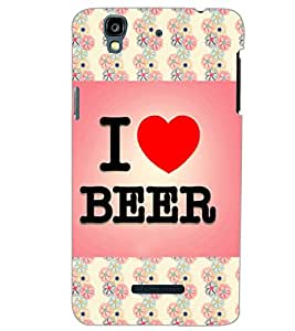 YU YUREKA PLUS I LOVE BEER Back Cover by PRINTSWAG