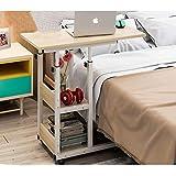 ZCCDNZ Nachttisch Laptoptisch Lazy Tisch Bett Tisch Kleiner Tisch im Schlafzimmer Bewegliches Heben Mini Student Einfach (Farbe : A)