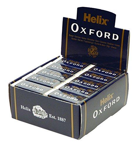Oxford Radierer von Helix groß Schutzhülle aus Pappe SMALL BULK (Manschette Oxford)