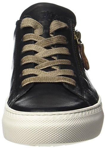 Paul Green Damen 4512081 Sneaker Schwarz (Black)