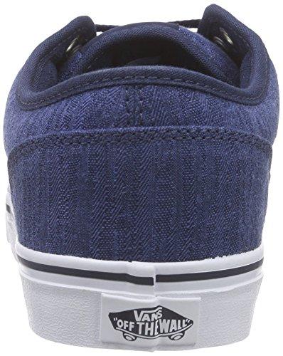 Vans - VZUUI45 - M Bishop (Textile) Bleu (Distress/Dress Blue/White)