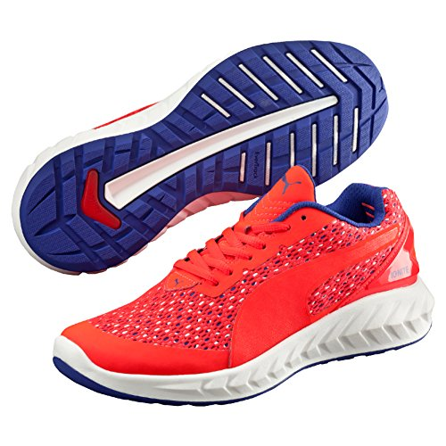 Puma Ignite Ultimate Layered Wn's, Zapatilla para Mujer, Rojo (Red Blast-Royal Blue-White 01), 41 EU