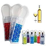 Gel Wein Flasche Chill Kühler Ice Tasche–Gefrierschrank Bag vodka- Tequila chiller- cooler- Carrier