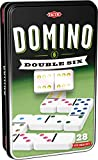 Tactic 53913 Double 6 Domino Game