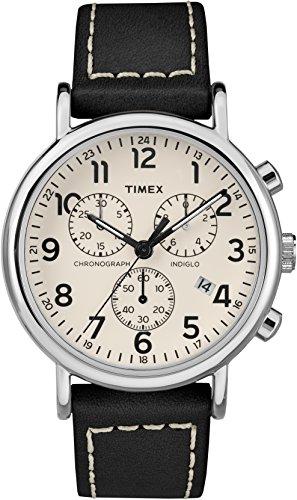 6a0bd5e53828 Timex Orologio Cronografo Quarzo Uomo con Cinturino in Pelle TW2R42800