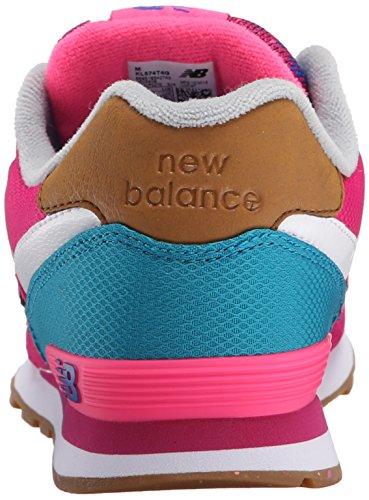 New Balance - Kl574t4g, Basse Unisex – Bambini Blue