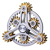 KTops Hand Spinner Fidget Spielzeug-Neuheit Neun Gelenkrad Spinner Fidget Gyroskop Toy Angst Relief Toy Pause Bad Habits ADHS mit Mehreren Premium-Bearings,6gears