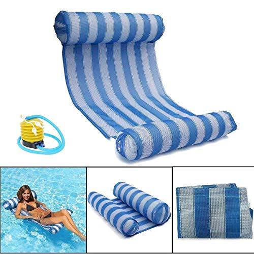 Queta amaca d'acqua, amaca gonfiabile salotto galleggiante all'aperto portatile di galleggiamento dell'acqua della piscina del letto di sonno