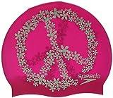 Speedo Slogan Print Cap Casquette Femme, Vegas Pink/Aquamint, Taille Unique