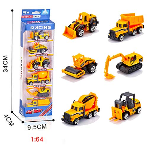 Bildung Squishy Spielzeug aufblasbares Spielzeug im Freien Spielzeug,1:64 RC-Muldenkipper Toy Engineering Truck Vehicles Alloy Engineering Mischen ()