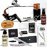 BARBER TOOLS  Kit/Set / Coffret d'entretien et de soin pour barbe et rasage avec Soin...