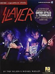 SLAYER - SIGNATURE LICKS (Guitar Signature Licks)