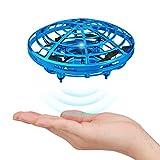 UFO Mini Drohne, Baztoy Kinder Spielzeug Handgesteuerte Quadcopter Infrarot-Induktions-Hubschrauber Flying Ball mit LED Fliegendes Spielzeug Geschenke für Jungen Mädchen Indoor Outdoor Fliegender Ball
