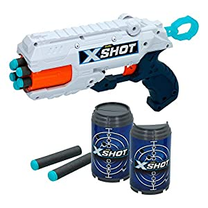 X-Shot- Pistola Reflex + 3 Botes (ColorBaby 44768)