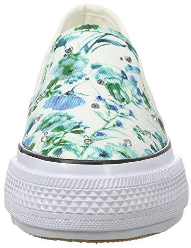 Fiorucci - Fepa003, Pantofole Donna Bianco (Bianco)