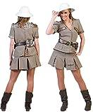 Karneval-Klamotten Safari Kostüm Damen sexy Karneval Dschungel Damenkostüm Größe 44/46