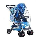 Cochecito de bebé plegable para la lluvia, carro transparente para el carrito del parabrisas, carro de plástico portátil para automóvil, seguro y saludable (Tamaño : L1)