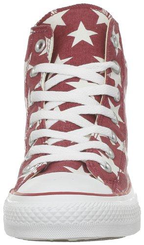 Conversect Big Star Hi - Baskets Basses Athlétiques (rouge / Blanc)