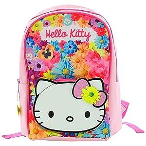 51%2BqsceMD0L. SS300  - Hello Kitty Sac à Dos avec bretelles réglables