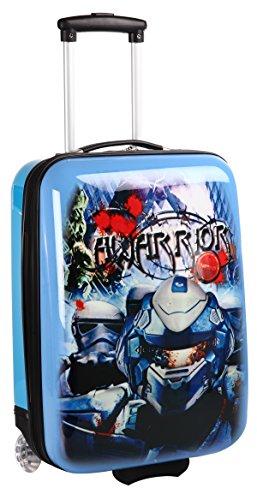 Valise cabine bleue pour enfant
