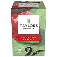Taylors of Harrogate Strawberry & Vanilla Green Tea, 20 Teabags