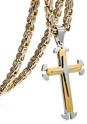 jstyle-acier-inoxyable-collier-homme-byzantine-pendentif-croix-avec-la-chane-56cm-61cm-76cm