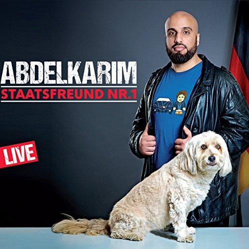 Buchseite und Rezensionen zu 'Staatsfreund Nr. 1 - Live' von Abdelkarim