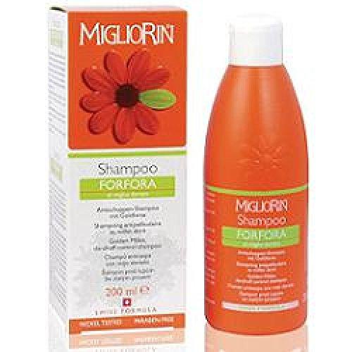 migliorin shampoo per la forfora al miglio dorato senza sls 200 ml