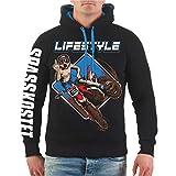 Spaß kostet Männer und Herren Kapuzenpullover Motocross Freestyle (mit Rückendruck) Größe S - 8XL