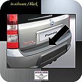 Richard Grant Mouldings Ltd. RGM - Protezione paraurti Originale per Fiat Panda 100 HP, Solo Modello 100HP Fino all'anno di Costruzione 02.2012 RBP342, Colore: Nero
