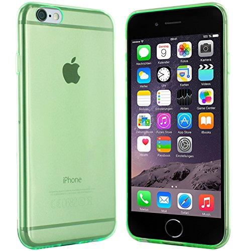 iPhone 6 Plus Hülle in Schwarz - Silikonhülle Case Schutzhülle Tasche für Apple iPhone 6 Plus (5,5 Zoll) Grün