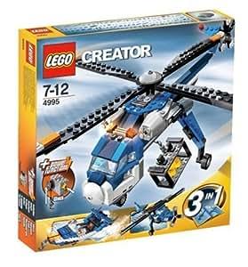 LEGO - 4995 - DUPLO LEGOVille - Jeux de construction - L' helicoptère cargo