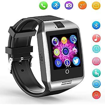 Smartwatch SHFY Q18 - Reloj Inteligente con Pantalla Táctil Bluetooth y Ranura para Tarjeta TF/