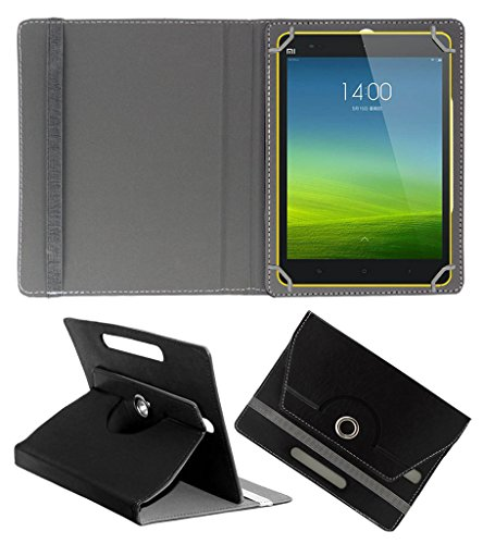 ACM ROTATING 360° LEATHER FLIP CASE FOR XIAOMI MI-PAD 8 TABLET STAND COVER HOLDER BLACK