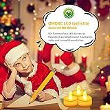 LED Kerzen, OMORC 24x LED teelicht ...