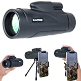 HD Monocular Telescopes, Evershop Phone Telephoto Lens Zoom Lens with Low Night Vision