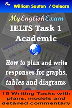 IELTS Task 1 Academic: How to Plan and Write Responses for Graphs, Tables and Diagrams by [Sauton, William]