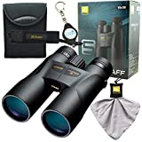 Nikon 7572 Prostaff 5 10x50mm Binocular Bundle with Nikon Micro Fiber Cleaning Cloth and Lumintrail Keychain Light