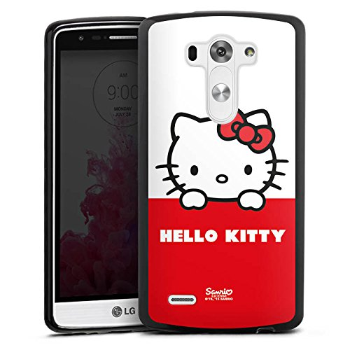 LG G3 Silikon Hülle Case Schutzhülle Hello Kitty Merchandise Fanartikel Cute Kawaii (Hello Kitty Cases Für Lg G3)