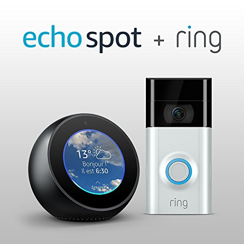 Amazon Echo Spot + Sonnette Video Ring