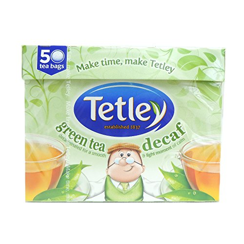 Tetley - Green Tea Decaf 50 Bags - 100g (Case of 6)