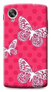 Mott2 Back Case for Google Nexus 5   Google Nexus 5Back Cover   Google Nexus 5 Back Case - Printed Designer Hard Plastic Case - Girls theme