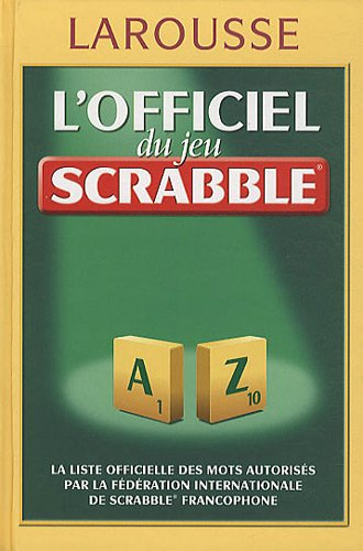Officiel du jeu Scrabble vacances 2010