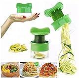 Ularma Espiral verdura fruta rebanador cortador rallador Twister pelador cocina Gadgets herramientas
