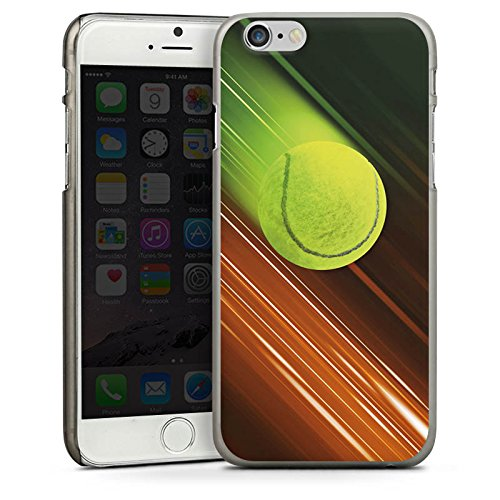 Apple iPhone 5 Housse étui coque protection Tennis Balle de tennis Rapide CasDur anthracite clair