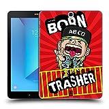 Head Case Designs Neo Trash Kids Of Rock Ruckseite Hülle für Samsung Galaxy Tab S3 9.7