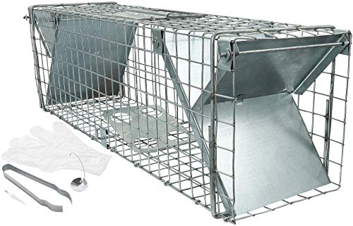 Piège à rats, piège à lapins avec nombreux accessoires 65 cm, capture rapide et simpl