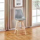 Designetsamaison Chaise Haute Grise - Gotteborg