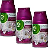 3x Air Wick Smooth Satin & Moon Lily Nachfüller für Freshmatic Max Refill - 250ml
