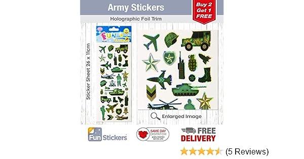 STICKER SHEET ARMY 823